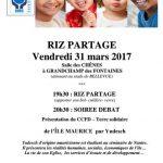 Soirée RIZ PARTAGE avec le CCFD