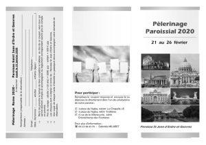 Pèlerinage paroissial à Rome 21-26 février 2020